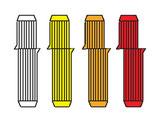 A55  Wunder-Dübel D8 mm, 24 Stück - Korrekturdübel