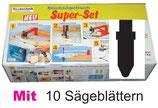 A10-1  Super-Set 7 tlg.+ 10 Sägeblätter Typ BOSCH