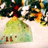 【受注生産】ピラミッド型オルゴナイト