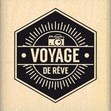 Tampon bois Voyage de rêve ( FD)