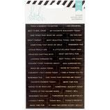 Heidi Swapp Memory Planner 108 Stickers 3/Pkg (noir)