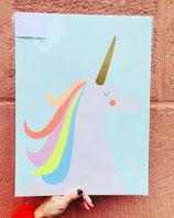 Art Prints Wall Unicorn Rainbow