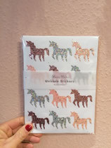 10 Sheets of Sticker Unicorn