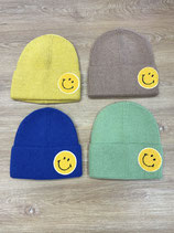 Mütze Goldstück Smiley