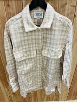 Shirt Jacke Creme