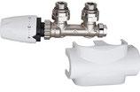 Ventilset f. Bad- u. Designheizkörper mit Thermostat