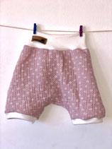 2006 Musselin Shorts flieder Blümchen