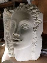 sculpture de visage