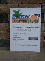 Pflanzenüberwinterung Saison 2018/2019