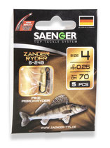 Saenger Zander Ryder S-249 70cm  5pcs.
