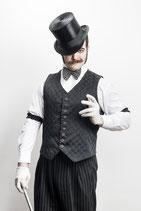 3-Piece Suit & Burlesque by Russell Bruner