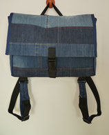 Rucksack, Mappe Jeans