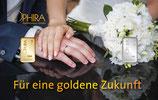 Für eine goldene Zukunft mit einem Gold- und einem Silberbarren M7GS