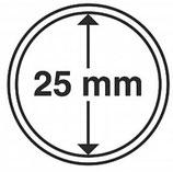 MÜNZKAPSELN CAPS 25 MM für z. B. Maple Leaf 1/20 Oz
