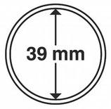 MÜNZKAPSELN CAPS 39 MM passend unter anderem für Arche Noah Silber