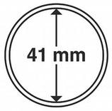 MÜNZKAPSELN CAPS 41 MM passend unter anderem für Känguru Silber