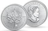 Maple Leaf 1 Oz, 999,9, Jahrgang 2021.