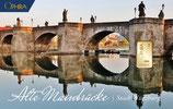 Alte Mainbrücke mit einem Goldbarren ab 0,50 Gramm M5G1