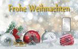 Frohe Weihnachten ab 1 g Silber M5S1