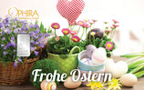 Geschenkbarren Frohe Ostern mit einem Silberbarren ab 1 g M1S1