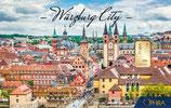 Würzburg City mit einem Goldbarren ab 0,50 Gramm M6G1