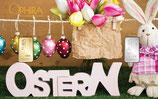 Geschenkbarren Ostern mit einem Gold- und einem Silberbarren