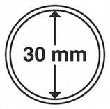 MÜNZKAPSELN CAPS 30 MM für z. B. Maple Leaf Gold 1 Oz