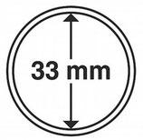 MÜNZKAPSELN CAPS 33 MM für z. B. Krügerrand Gold 1 Oz