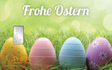 Geschenkbarren Frohe Ostern mit einem Silberbarren ab 1 g M5S1