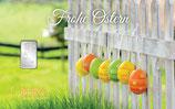 Geschenkbarren Frohe Ostern mit einem Silberbarren ab 1 g M4S1