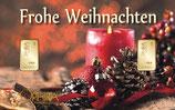 Frohe Weihnachten mit 2 Goldbarren M8G2