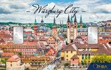Würzburg City mit zwei Silberbarren ab 1 g M6S2