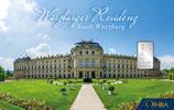 Würzburger Residenz mit einem Silberbarren ab 1 g M1S1