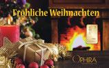 Fröhliche Weihnachten ab 0,10 g Gold M4G1