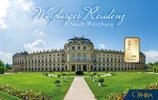 Würzburger Residenz mit einem Goldbarren ab 0,10 Gramm M1G1