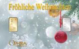 Fröhliche Weihnachten mit Gold und Silber M7GS