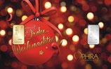Frohe Weihnachten mit Gold- und Silberbarren M2GS