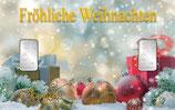 Fröhliche Weihnachten mit 2 Silberbarren M9S2