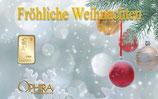 Fröhliche Weihnachten ab 0,10 g Gold M7G1
