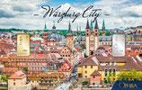 Würzburg City mit einem Goldbarren ab 0,50 Gramm und einem Silberbarren ab 1 g M6GS