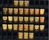 30 OPHIRA Goldbarren zu je 1 Gramm