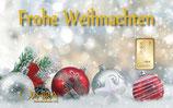 Frohe Weihnachten ab 0,10 g Gold M5G1