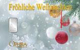 Fröhliche Weihnachten ab 1 g Silber M7S1