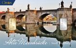 Alte Mainbrücke mit einem Goldbarren ab 0,50 Gramm und einem Silberbarren ab 1 g M5GS
