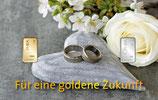 Für eine goldene Zukunft mit einem Gold- und einem Silberbarren M3GS