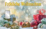 Fröhliche Weihnachten ab 1 g Silber M9S1