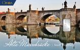 Alte Mainbrücke mit einem Silberbarren ab 1 g M5S1