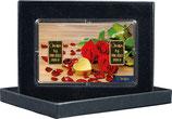 Rosen und Herz mit zwei Goldbarren ab 0,10 Gramm M2G2