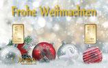 Frohe Weihnachten mit 2 Goldbarren M5G2