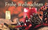 Frohe Weihnachten ab 0,10 g Gold M8G1